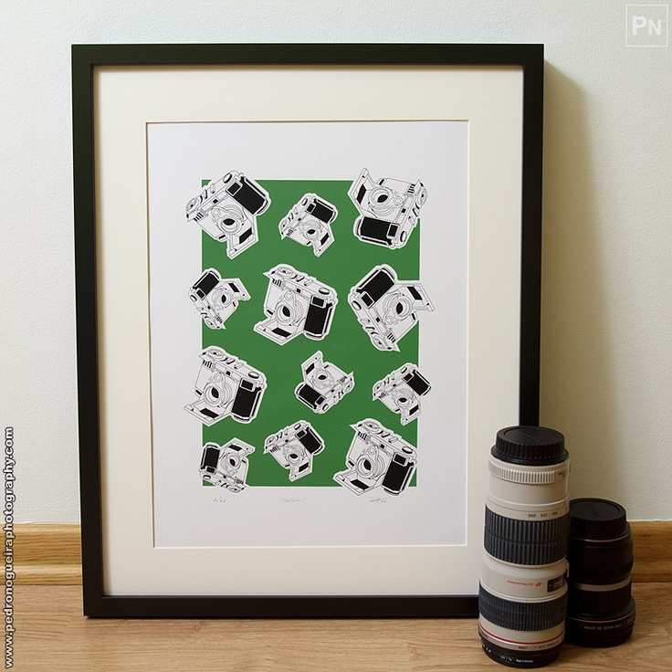 Limited Edition Screen print A3 size.