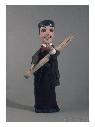 Marionnette de Guignol pour le théâtre Guignol-Mourguet Impression giclée