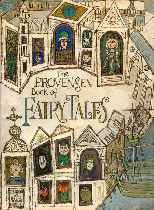 Alice and Martin Provensen's Stunning Vintage Illustrations for Twelve Classic Fairy Tales | Brain Pickings