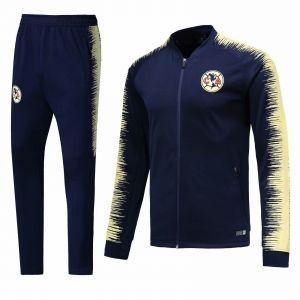 37a7405ed96 2018-19 Cheap Jacket Uniform Club America Navy Replica Training Suit  [CFC646]