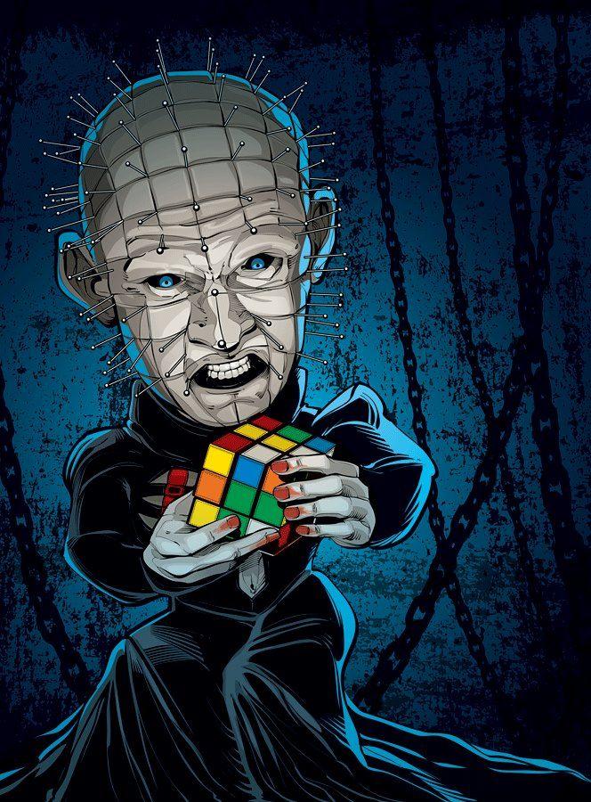 Horror Movie Villains: byCristiano Siqueira - Hellraiser