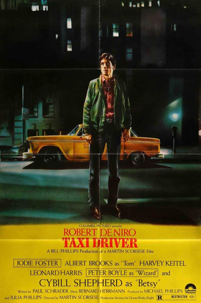 """an analysis of the music in the movie taxi driver Travis bickle, robert de niro's character in """"taxi driver,"""" is often the pop culture   this is a conversation that happens early in the film when travis is on a date  with  she says he reminds her of a kris kristofferson song, and."""