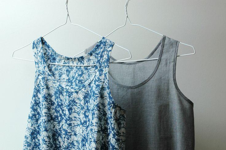 Bantam. A lovely Merchant and Mills singlet pattern. More make details on.... bombazine.com.au