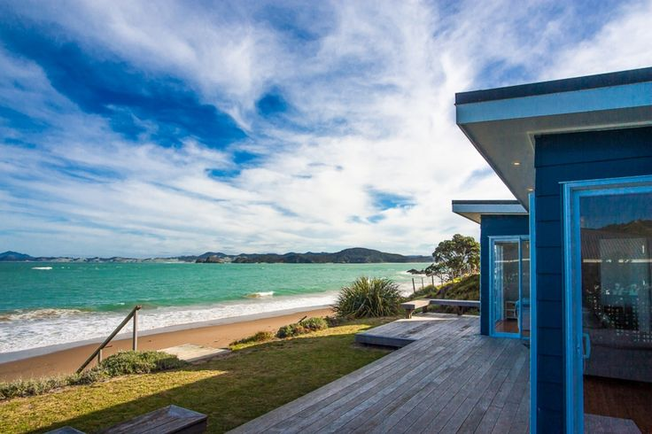 Shoreside - Absolute Beachfront with gorgeous view in Whangaumu Bay, Tutukaka Coast | Bookabach