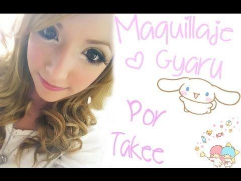 Maquillaje Gyaru Sencillo! ☆ By Takee ♡