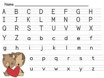 17 Best images about Letter Practice Sheets on Pinterest ...