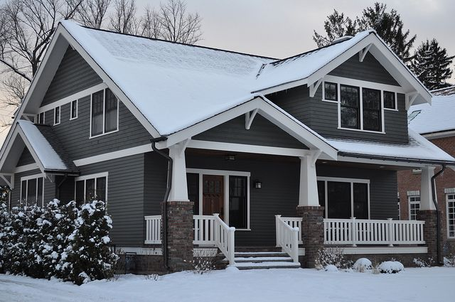 Illinois Bungalow - just need thick corner trim and heavier window trim-- love the siding--JB