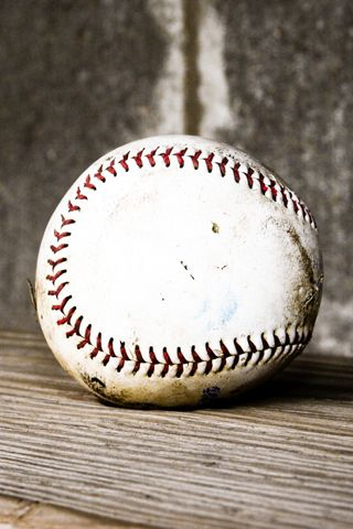 Used Baseball Closeup Android Wallpaper HD Android
