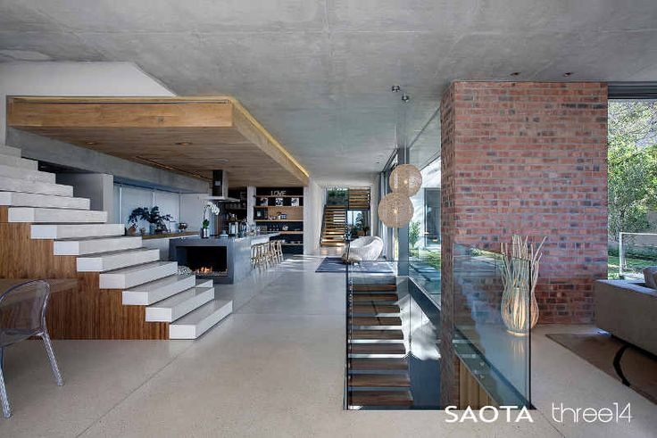 The latest home by SAOTA – Stefan Antoni Olmesdahl Truen Architects and Three14 Architects in Higgovale, Cape Town.