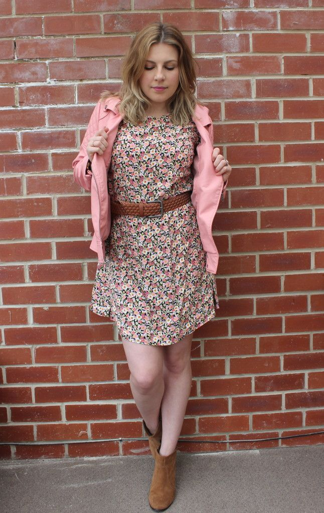 Style At Any Size Pastel Leather Jacket Challenge