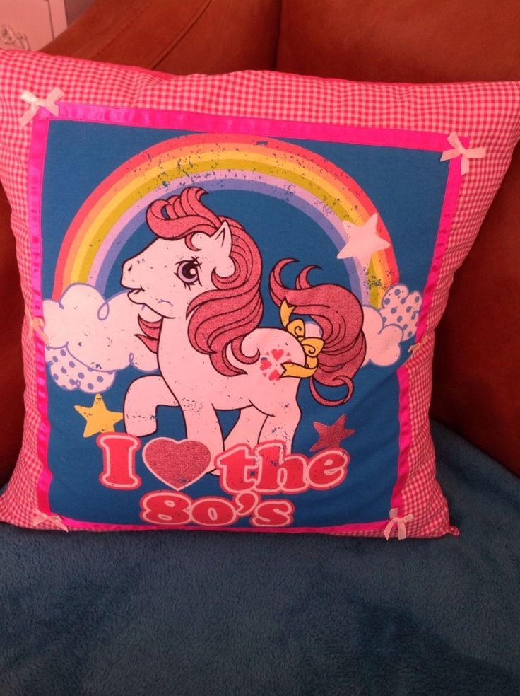Vintage My little pony G1 cushion | eBay
