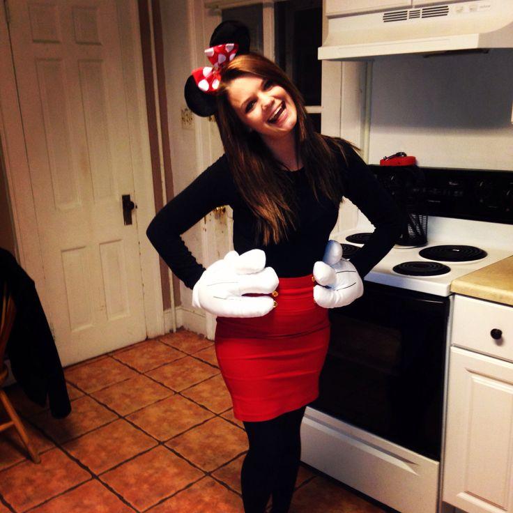 Halloween 2013 Minnie Mouse costume  sc 1 st  Pinterest & The 51 best Halloween Costumes images on Pinterest | Adult costumes ...