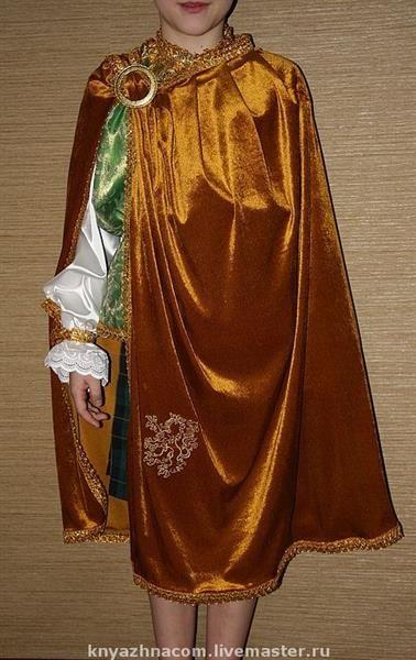 Детский костюм короля своими руками