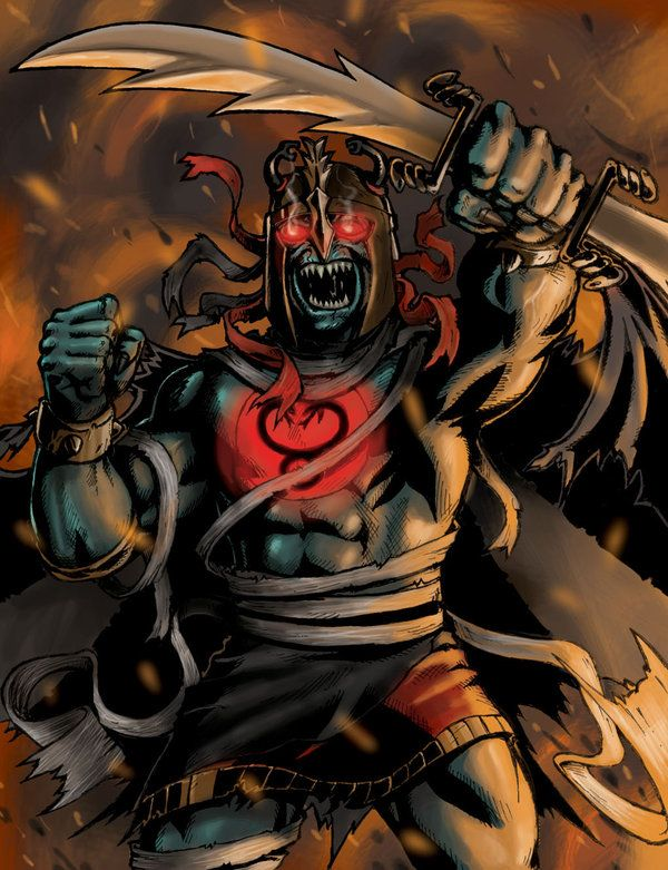 mumm-ra colored by daverge on deviantART