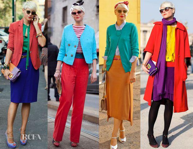 ELISA NALIN 2 Colour Blocking - Red Carpet Fashion Awards