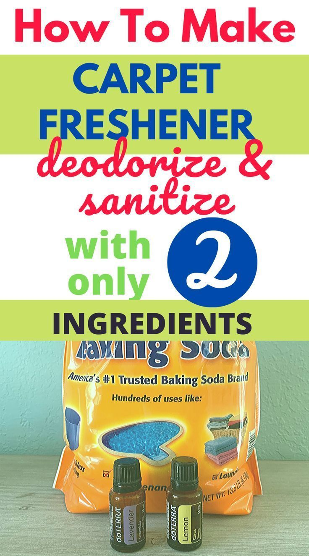 Homemade Carpet Cleaner Freshener Diy Cleaning Hacks In 2020 Carpet Cleaner Homemade Diy Cleaning Hacks Carpet Freshener