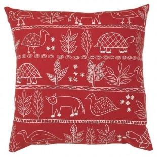 Folk-art cushion - housetohome
