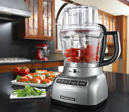 Kitchen Aid 13-cup Food Processor with Exact Slice System (external blade control)