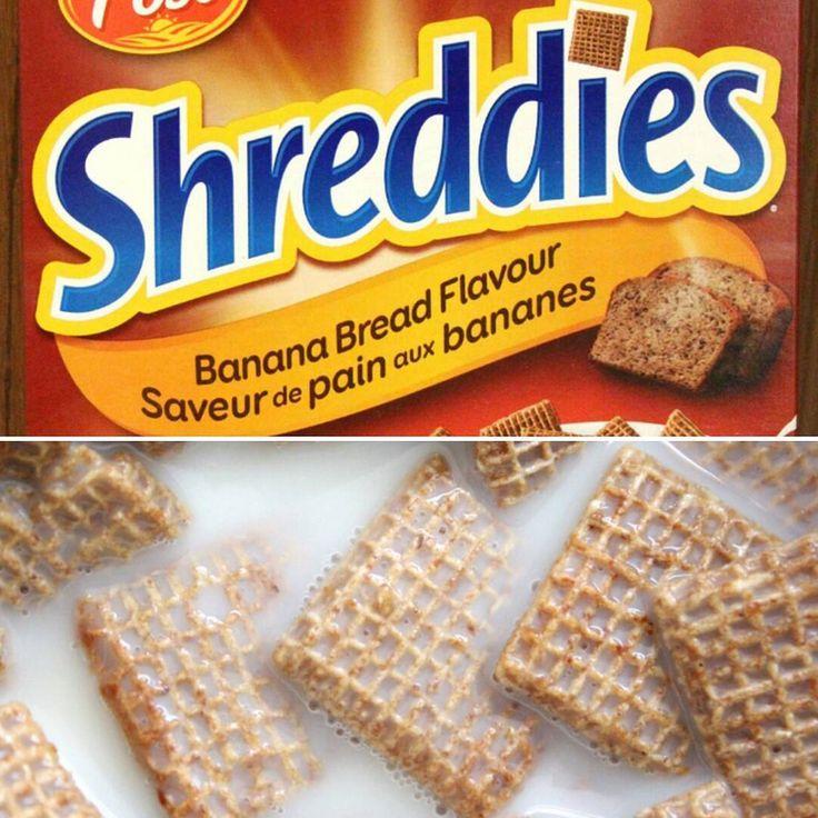 Post Shreddies Banana Bread Flavour