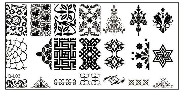 6 * 12 см нержавеющей стали для штамповки пластины геометрические узоры монро мадонна спортивные ногти штамп JH124 купить на AliExpress