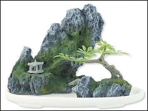 krmiva-24.cz - Dekorace AQUA EXCELLENT bonsai + skála 13 x 7 x 10 cm (1ks) - PLAČEK - Kamenné doplňky - Dekorace do akvárii, Akvaristika - Krmiva a potřeby pro psy, kočky, ptáky, hlodavce, rybičky , plazy a ostatní.Široký výběr z více než 13 500 produktů.
