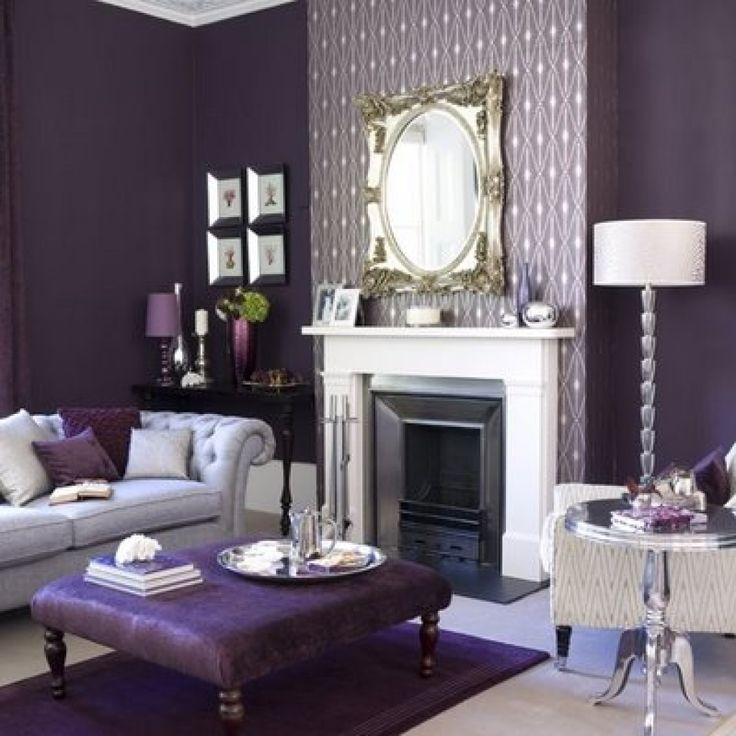 What Color Goes Good With Purple For Home Decoration? 18 Ideas For You Part 58
