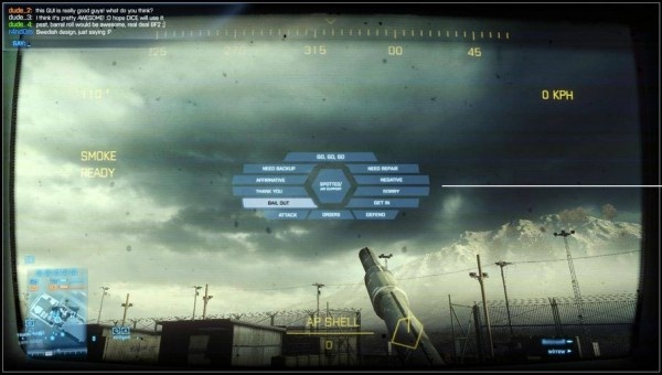 PC & console games deserve unique control schemes. Battlefield 3 launched on the PC without their radial mouse ui, but say they're bringing it back in a patch.