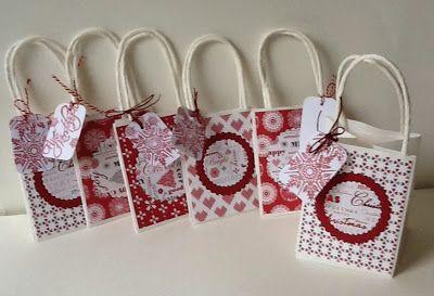 kleine kadotasjes / small giftbags