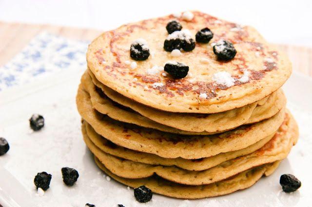 Pancakes Banane /Myrtilles