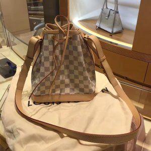 Louis Vuitton Damier Azur Canvas Noe Bucket Bag N41220