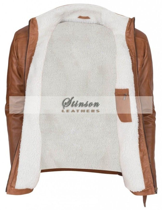 Brown Waxed Mens Leather Jacket  http://www.stinsonleathers.co.uk/product/brown-waxed-mens-winter-leather-jacket-sale/