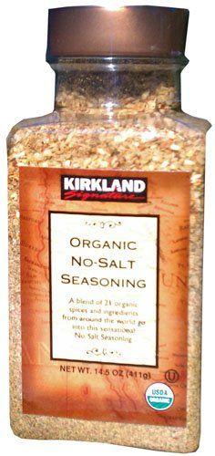 Kirkland Signature USDA Organic No-Salt Seasoning 14.5 oz