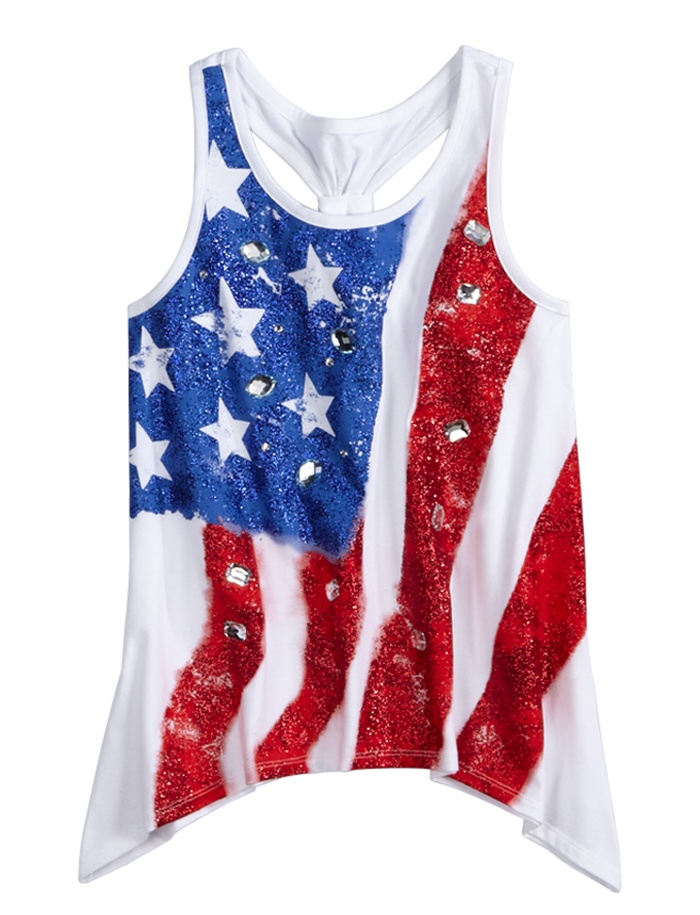 Flowy Graphic Tank  Tanks  Tops  Tanks  Shop Justice