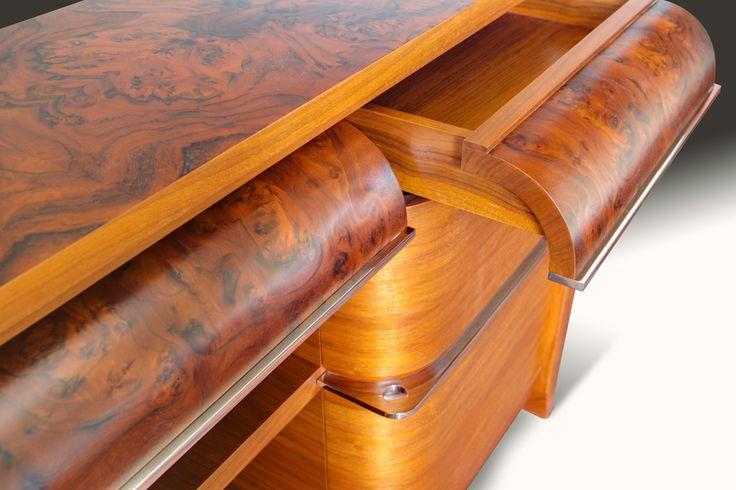 Komoda Furniture Manufaktura Wirchomski Poland design PRL art deco home inspiration