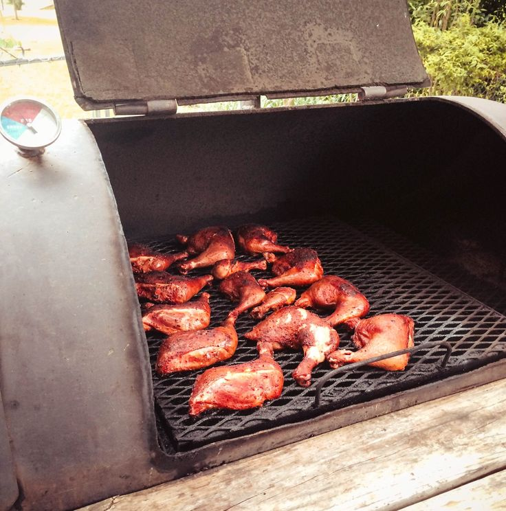 Smoked Chicken Leg Quarters | Jennifer Cooks