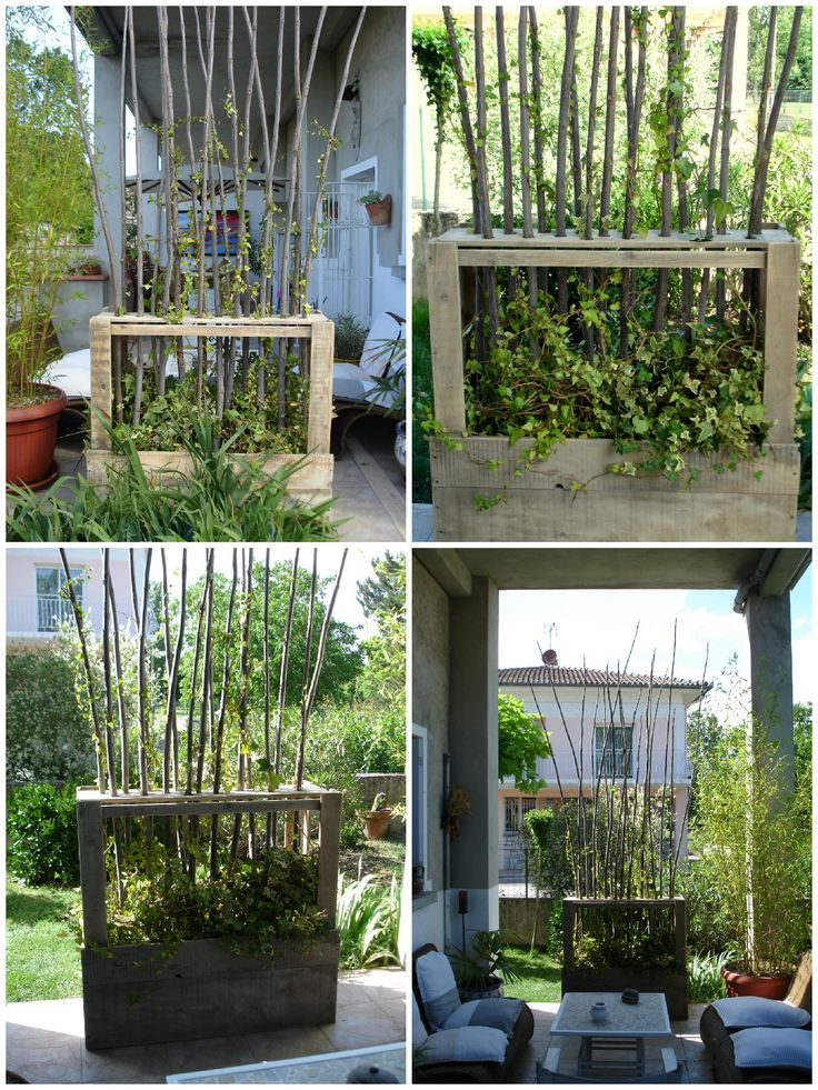 #Pallet, #Recycled, #ScreenPlant