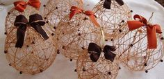 Originální vánoční ozdoby: Koule z vodního skla