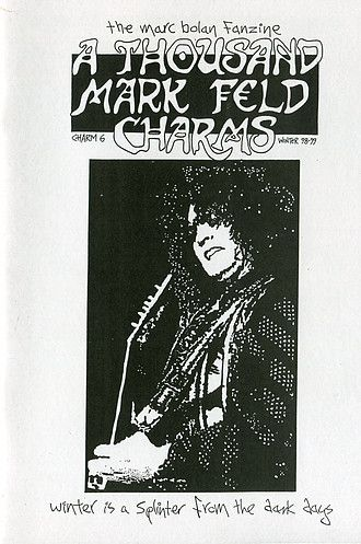 ATMFC 6 Winter 98/99  A5 format  28 pages   CONTENTS:  Articles: T-Rex Live 1968-1977, Meet The Fans, The David Bowie Connection, Marc Bolan - Spooky ButTrue  Features: Letters pages, news, Jam (adverts)  Reviews: Rolan Bolan And The Brothers Bounce Live At Shepherds Bush Empire 1998, T-Rex Fanclub Newsletters, Prince Of Players, VH1 Bolan tribute Night, Velvet Goldmine, Great jewish Music CD  Comic strip: Dynamo (Part 1) by Gavin Ross