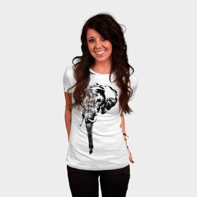 Head Elephant T Shirt By Rostik924 Design By Humans