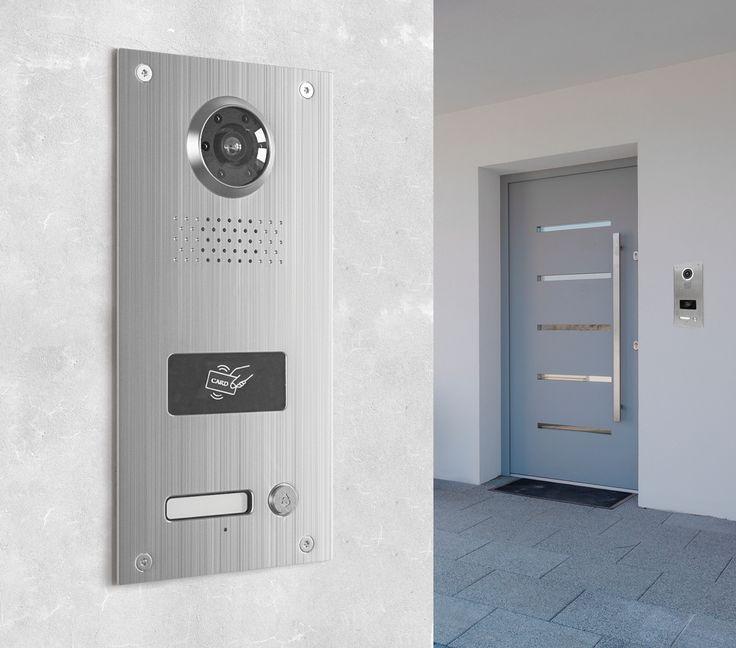 Die Neostar BMV-T2401WR mit 130° und 700TVL ist eine mit RFID-Kartenlesegerät ausgestattete Unterputz-Türstation für Einfamilienhaushalte. Die Türstation überzeugt durch modernes Design und eine enorme Funktionsvielfalt mit höchstem Bedienkomfort. Die edle Verarbeitung aus gebürstetem Edelstahl sorgt nicht nur für optisch ansprechendes Aussehen, sondern auch für Beständigkeit und Resistenzfähigkeit sogar gegen widrige Wetterbedingungen, dank der Schutzklasse IP54.