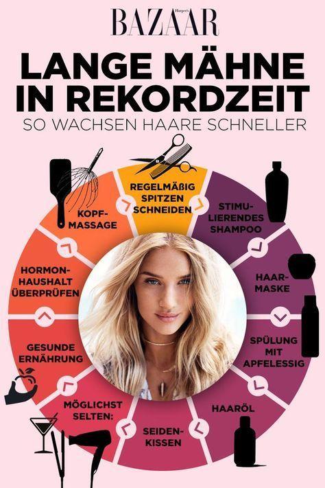 Haare schneller wachsen lassen: 6 Tipps für langes Haar – K W – Bianca Müller