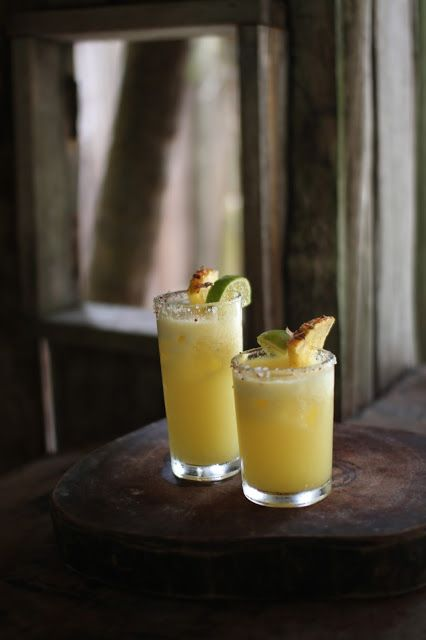 Spicy Piña and Tequila Cocktails