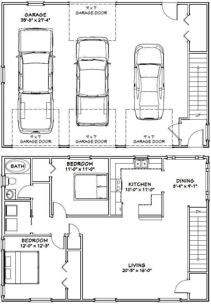 Best 25 architectural house plans ideas on pinterest for Garage guest house plans