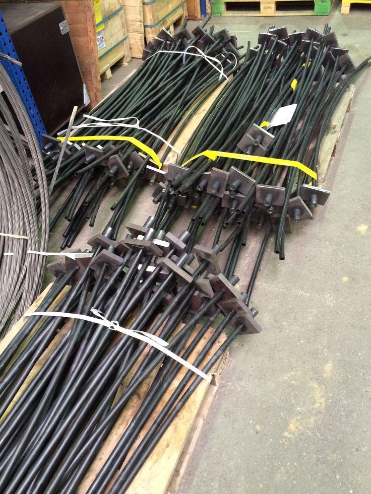 Voorspan-strengen welke wij toepassen in ons iTens systeem