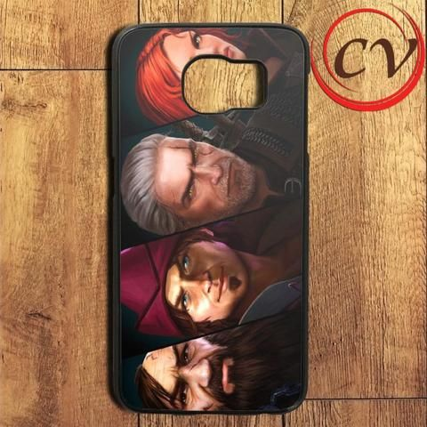 The Witcher Game Character Samsung Galaxy S7 Edge Case