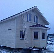 Качественное домостроение. Строительство домов и бань из профилированного бруса, каркасных домов. Под ключ, под усадку, по всей РФ, лучшие проекты, низкие цены