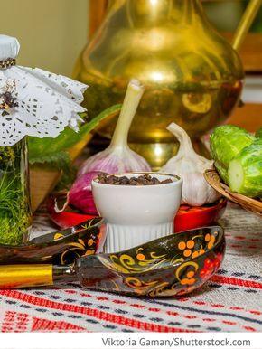 Eingelegte Gurken nach russischer Art Ogurzy w russkom stile - Огурцы в русском стиле - Russische Rezepte