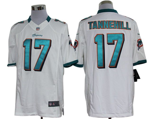 2012 Nike NFL Miami Dolphins 17 Ryan Tannehill White Limited Jerseys