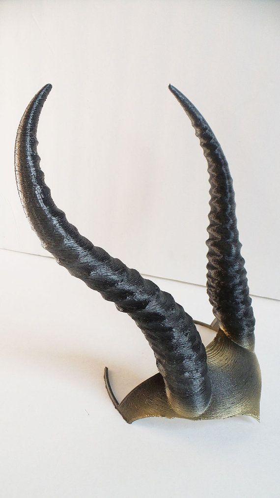 DIY Gazelle horned crown Elvish Larp by MudpiesandMajesty on Etsy