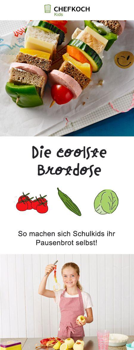 Coole Ideen für die Brotdose - bei Chefkoch Kids!